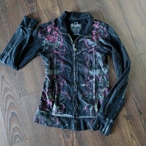 Sinful by taffliction Zip-up Jacket